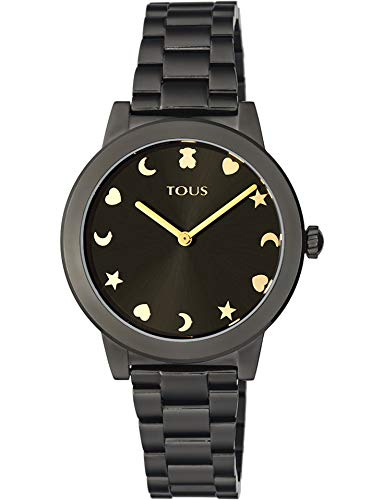 Reloj Tous Nocturne Acero Negro. 900350425