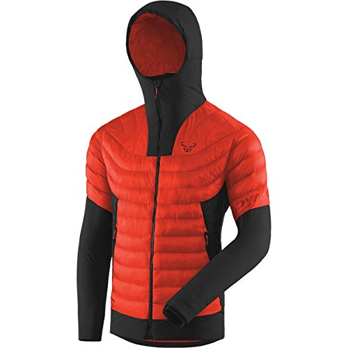 DYNAFIT M FT Insulation Jacket Colorblock-Orange-Schwarz, Herren Primaloft Jacke, Größe L - Farbe Dawn
