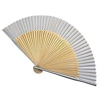 LWT 扇子 ハンドファン、男性/女性、ダンス、装飾、フェスティバル、ギフト用竹ハンドヘルド折りたたみハンドファンつ折りシルク