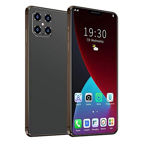 XIYEE Téléphone Portable I12 Pro Max, Smartphone Android 10 5G, Écran FHD + 6,7 Pouces, Batterie 5000mAh, 8 Go De RAM + 512 Go De ROM, Caméra Arrière AI Four 32MP