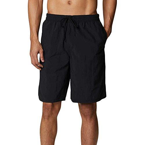 Columbia Pantalones Cortos Roatan Drifter 2.0 para Hombre, Color Negro, Talla M