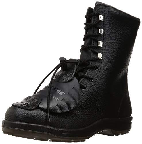 [ミドリ安全] 安全靴 長編上 甲プロテクタ付 ゴム紐 CJ030 甲プロM2 ブラック 26.5 cm 3E