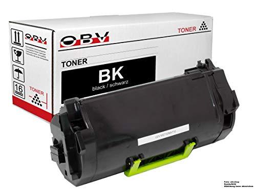 OBV Toner kompatibel mit Lexmark 62D2H00 52D2H0L 52D2H0L für Lexmark MS710 MS711 MX710 MX711 MS810 MS811 MS812 MX810 MX811 MX812 Serie schwarz