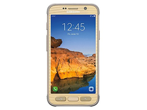 Samsung Galaxy S7 Active G891A 32GB Shatter,Dust and Water Resistant Smartphone w/ 12MP Camera (AT&T) - Sandy Gold