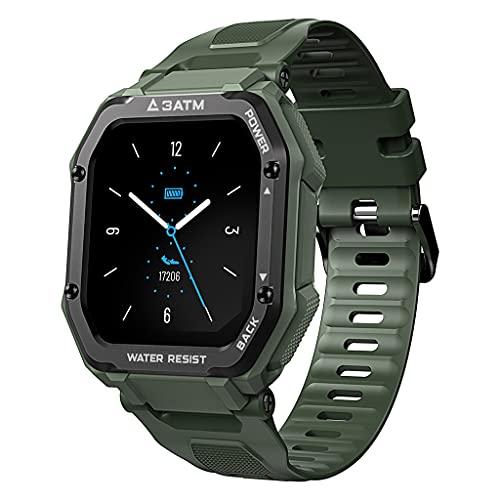 VVXXMO Reloj inteligente 3ATM Fitness Tracker calorías podómetro actividad al aire libre Fitness Bluetooth pulsera deportiva