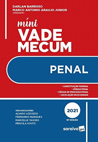 Mini Vade Mecum Penal - 10ª Edição 2021