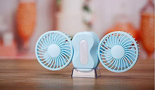 XXxx Sunlmg Mini-USB-ventilator, draagbaar, inklapbaar, klein, voor reizen/werken, kantoor, buiten, voor yoga