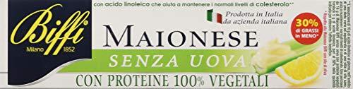 Biffi Maionese Vegetale, senza Uova, 15 x 143g