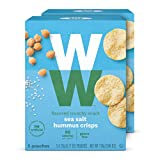 WW Sea Salt Hummus Crisps - Gluten-free, 2 SmartPoints - 2 Boxes (10 Count Total) - Weight Watchers...