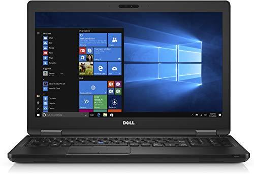 Dell Latitude E5580 15.6', Core i7-7600U 2.8GHz, 16GB Ram, 256GB SSD, Webcam, Windows 10 Pro 64bit (renovado)