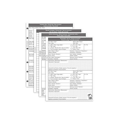 iQ-UV iQ Logbook Refill XS (S) Mixed Logbuch Einlagen, Weiß