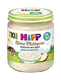 Hipp Kleine Mehlspeise, Milchreis mit Apfel, 6er Pack (6 x 200 g)