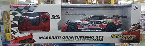 Re.El Toys Maserati Gran Turismo Rc Mezzi Giocattolo Auto, Multicolore, 8001059022397