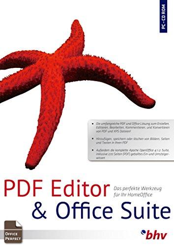 PDF Editor & Textverarbeitung. Für Windows 10, 8, 7 (32- & 64 Bit), Vista, XP (SP2 oder höher)