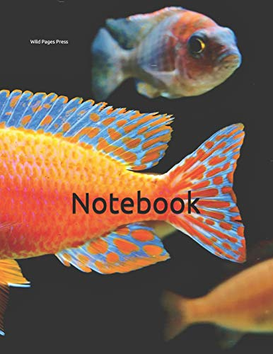 Notebook: fairy wrasse wrase fish fishes aquarium tank filter marine maritime decoration pebbles Betta siamese guppy cichlid angel water quality plants rocks rock lilly lily snail snails tanks stand