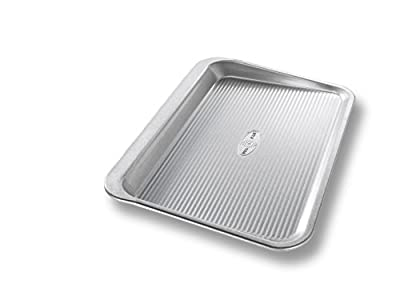 USA Pan Bakeware Aluminized Steel Cookie Sheet, Large