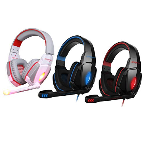 Head-mounted electric competitive computer game headset noise-resistant stereo Black and blue