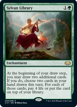 Magic: The Gathering - Sylvan Library - Commander Collection: Green