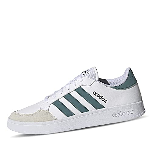 adidas BREAKNET, Zapatillas de Tenis Hombre, FTWBLA/ESMBRU/NEGBÁS, 41 1/3 EU