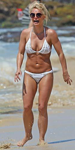 bucraft Britney Spears Posiert im Bikini, 20 x 25 cm