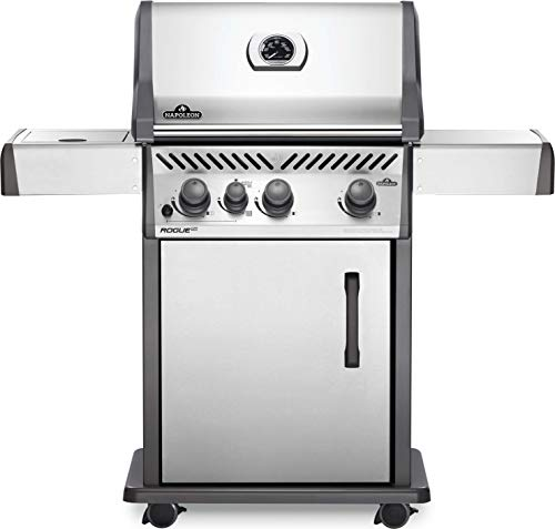 Napoleon RXT425SIBPSS-1 Rogue XT 425 SIB Gas Grill, sq. in + Infrared Side Burner, Stainless Steel