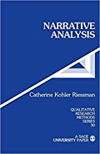[0803947542] [9780803947542] Narrative Analysis (Qualitative Research Methods) 1st Edition-Paperback