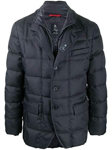 Fay Luxury Fashion Uomo NAM45410210RDAU807 Blu Poliestere Piumino | Autunno-Inverno 20