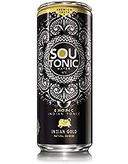 Sou Tonic Gold, Exotic Indian Tonic - 33cl (Quinina Natural) [Pack de 24]
