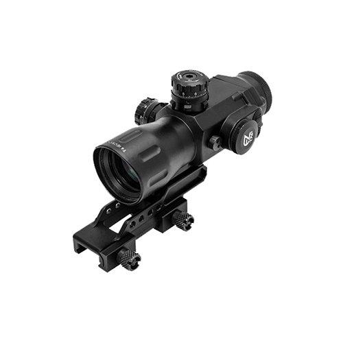 UTG Sporting Type T4 Series 4X32 Prismatic Scope-Circle Dot Mira telescópica, Unisex Adulto, Negro, Talla única