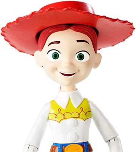Toy Story- 4 Disney Pixar Jessie Personaggio Articolato da 18 cm, Giocattolo per Bambini di 3+ Anni, GGX36