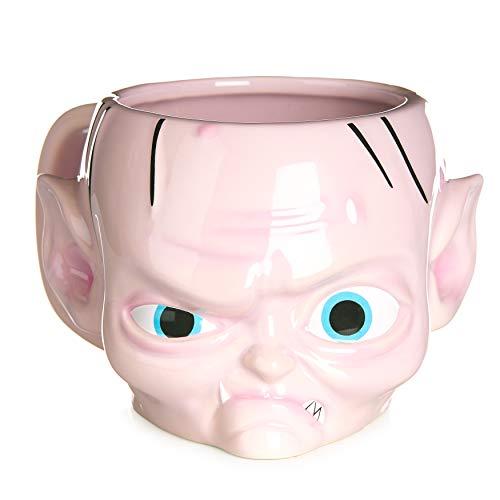 Paladone Tasse in Form von Gollum, offizielles Lizenzprodukt aus dem Herr der Ringe und der Hobbit, Dolomit