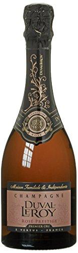 Champagne Duval-Leroy Prestige Premier Cru Champagner Rosé (1 x 0.375 l)