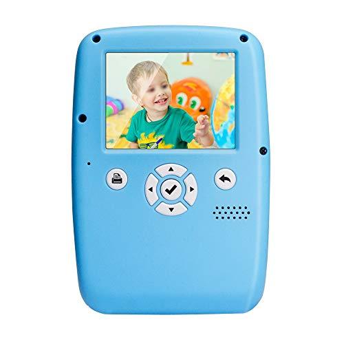 Juguete de Regalo de la Cámara para Niños Portátiles de impresión instantánea cámara de Fotos Digital 12 Millones de píxeles de Regalos de Juguetes for niños y niñas Cámara Digital Infantil