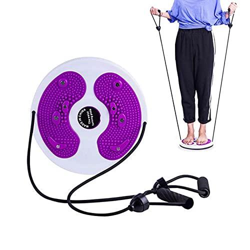 Twisting Waist Disc Balance Board,Twist Shape Line Body Twister Piastra Aerobica disco per esercizi per fianchi e vita, fitness e movimento (rosa)