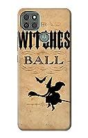 JP2648M9P ヴィンテージハロウィン魔女ボール Vintage Halloween The Witches Ball Motorola Moto G9 Power ケース