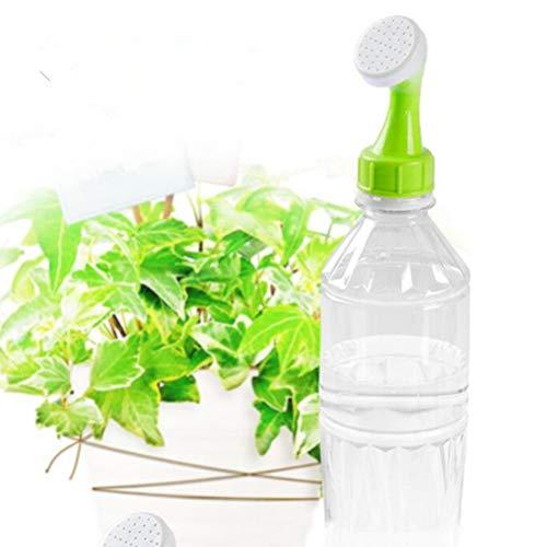 Sunine 2-teilige Bewässerungsdüse Kunststoff-Bewässerungsflaschenverschluss Tragbarer Sprinklerkopf für Zimmerpflanzen Autowaschen Haustier Baden Bodenreinigung