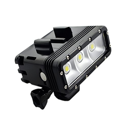 SupTig alta potencia regulable doble recargable impermeable LED luz de vídeo Fill...
