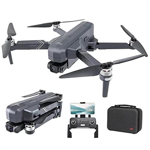 Runfon Droni FPV del Telecomando Fotocamera HD 4K Pieghevole RC Quadcopter 2Battery 32G Scheda SD