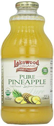 Lakewood Organic Pineapple Juice, 32 oz