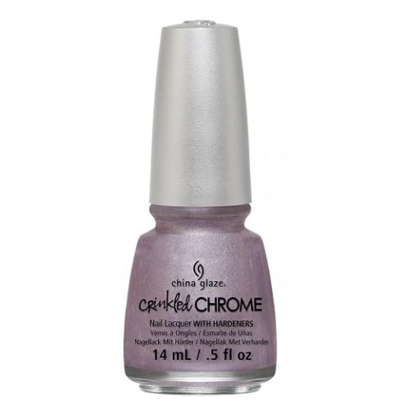 観察着替える意外CHINA GLAZE Nail Lacquer - Crinkled Chrome - Crush, Crush, Baby (並行輸入品)