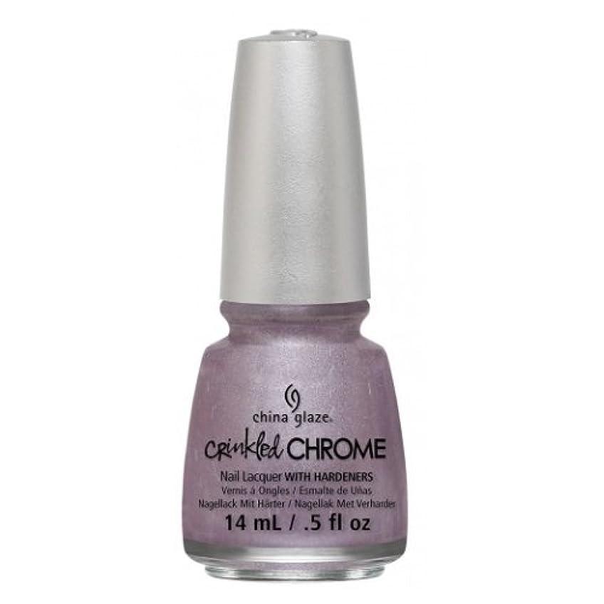 最大ホラー精度CHINA GLAZE Nail Lacquer - Crinkled Chrome - Crush, Crush, Baby (並行輸入品)