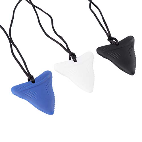 HEALLILY 3 Piezas de Colgante de Dentición de Silicona para Bebés Collar de Masticación para Bebés Collar de Molar para Dentición Juguete Mordedor para Autismo Juguete Mordedor para Recién