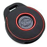 Funda para llave de moto HAA de silicona Keyless Go negro rojo