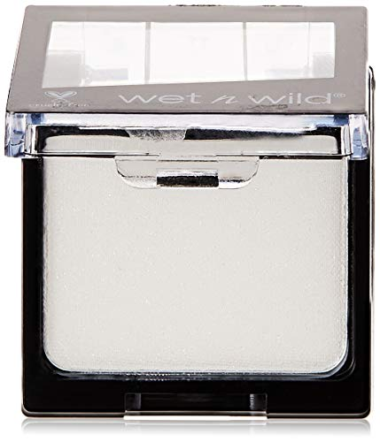 Wet N Wild Color Icon Eyeshadow Glitter Single – hochpigmentierter Glitzer Lidschatten, vegan, Sugar, 1 Stk, 10g