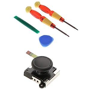 LOadSEcr Screwdriver Set, Screwdriver Kit, 5Pcs Analog Joystick Thumb Stick Screwdrivers Kits for Nintendo Switch Joy-Con for Repair Home Improvement Craft