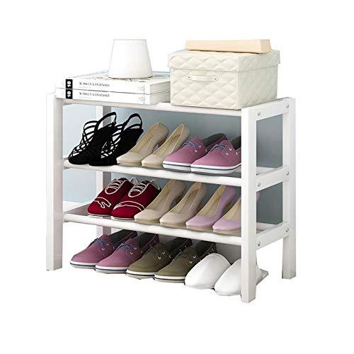 BRFDC Zapatero Zapatero De Madera Maciza for El Hogar, Simple Y Pequeño, Zapato for El Polvo, Zapato for El Polvo, Estante for Almacenamiento De Zapatos (Color : A, Size : 50cm)