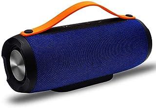 KJRJLY Outdoor Speaker Wireless Bluetooth Speaker Portable Portable Outdoor Audio High Capacity Battery (Color : Blue)