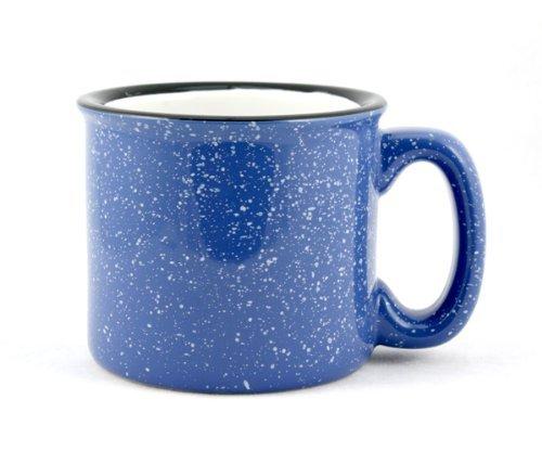 Photo of sky blue colored Marble Creek Ceramic Campfire Mug