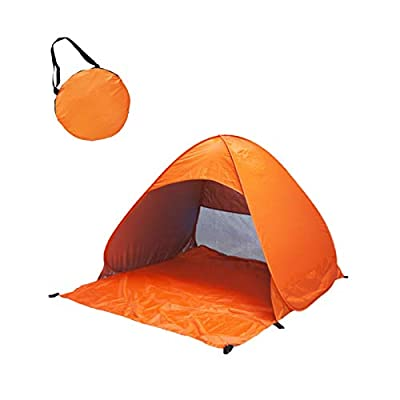 Amazon - Save 80%: Portable Automatic Set-up Camping Beach Shade Tent Outdoor UV Protection T…