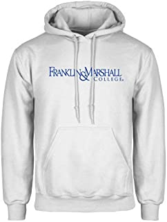 Franklin & Marshall White Fleece Hoodie 'Franklin & Marshall College'